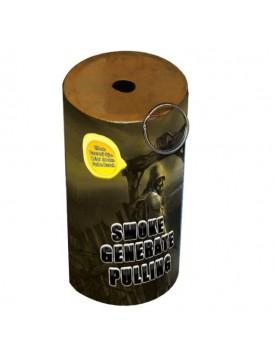 Ručný dyymový granát žltý 13cm