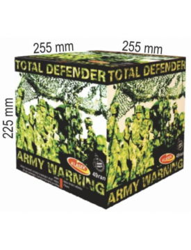 Ohňostroj TOTAL DEFENDER 49rán 50sec