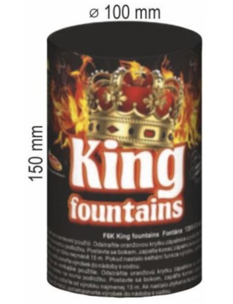 Fontána KING FOUNTAIN 1ks 100sec